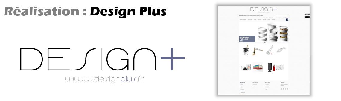 Site web de vente de produits au design primé