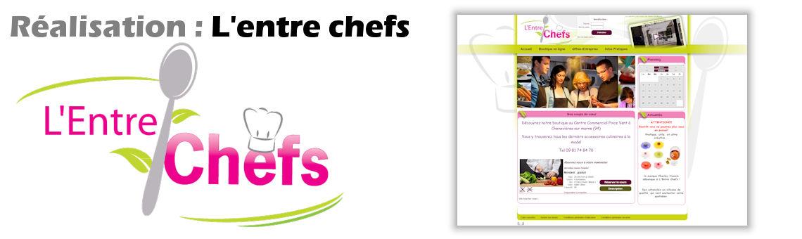 Réservation de cours de cuisine