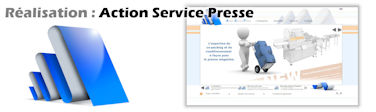 Site web Action Service Presse